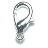 Lobster Clasp 15mm Silver Plated